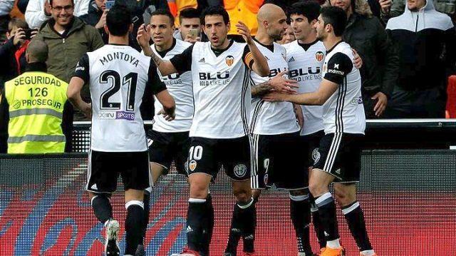 Στην τρίτη θέση της La Liga η Βαλένθια
