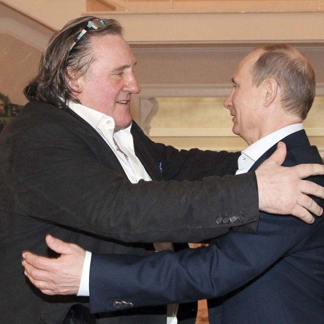 Ο Ζεράρ Ντεπαρντιέ ψήφισε στις ρωσικές προεδρικές εκλογές