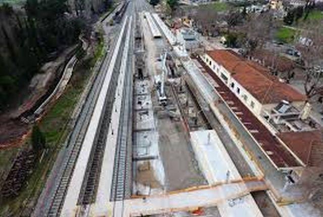 Παραδόθηκε η νέα σιδηροδρομική γραμμή Τιθορέα - Λιανοκλάδι