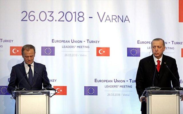 Ενοχλημένη η Ε.Ε με τις ενέργειες της Τουρκίας σε Αν. Μεσόγειο και Αιγαίο
