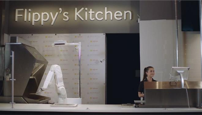 Καλιφόρνια: Ρομπότ ψήνει μπέργκερ σε φαστ-φουντ της πόλης! (vid)
