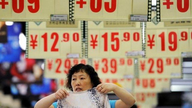 Απρόσμενη επιβράδυνση του πληθωρισμού στην Κίνα
