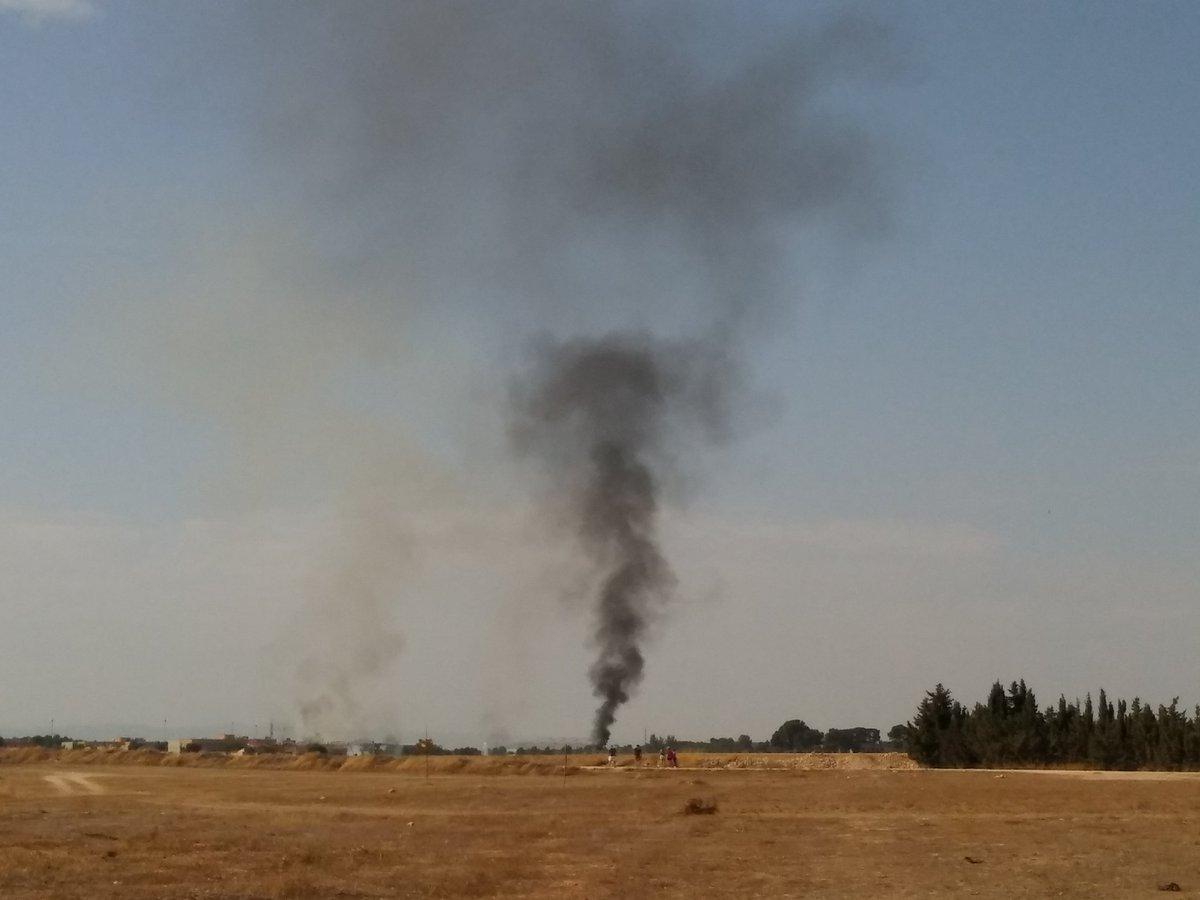 Στρατιωτικό αεροσκάφος συνετρίβη στην Ισπανία