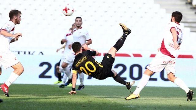 Superleague: Στην κορυφή η ΑΕΚ, επικράτησε 4-0 επί της ΑΕΛ