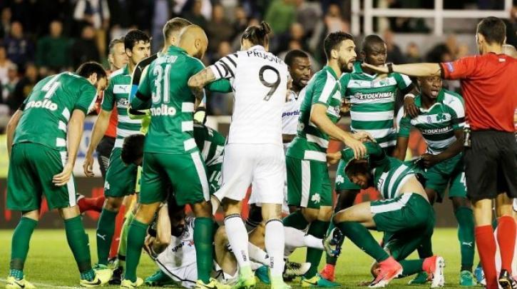 Ποινές σε ποδοσφαιριστές ΠΑΟ και ΠΑΟΚ για τo επεισόδιο στη Λεωφόρο