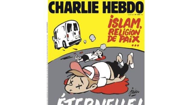 Διαμάχη για το πρωτοσέλιδο της Charlie Hebdo για τις επιθέσεις στην Ισπανία
