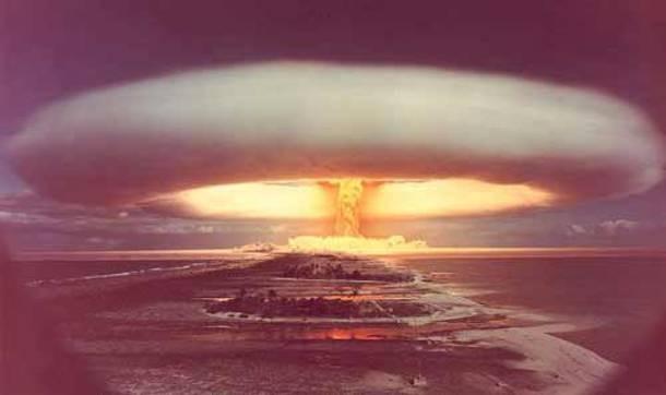 Βίντεο ντοκουμέντο από πυρηνική δοκιμή των Αμερικανών