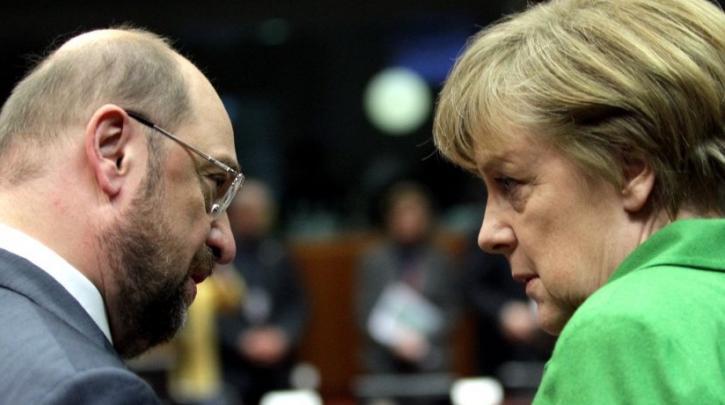 Γερμανία: Το SPD αποφασίζει σήμερα για συνομιλίες με την Μέρκελ