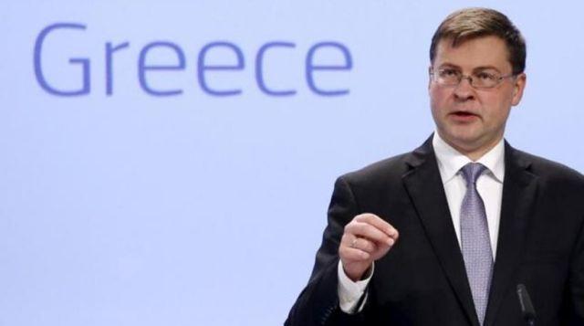 Ντομπρόβσκις: Η εκταμίευση της δόσης θα γίνει το συντομότερο