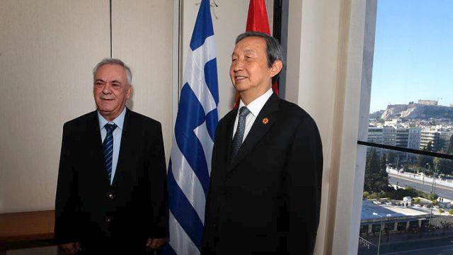 Γ. Δραγασάκης: Ανάπτυξη της συνεργασίας με την Κίνα