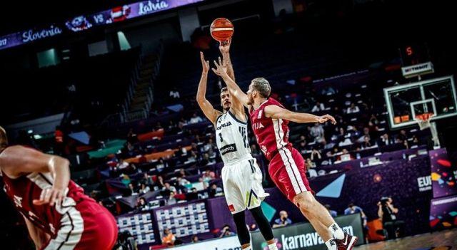 Στα ημιτελικά του Ευρωμπάσκετ η Σλοβενία, 103-97 την Λετονία