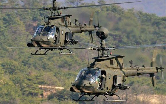 «Αστακός» τα νησιά του Αιγαίου με 70 αμερικανικά ελικόπτερα (vid)
