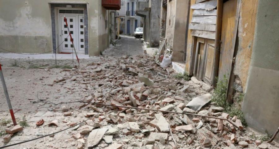 Λέσβος: Μη κατοικήσιμα πλέον τα μισά κτίρια