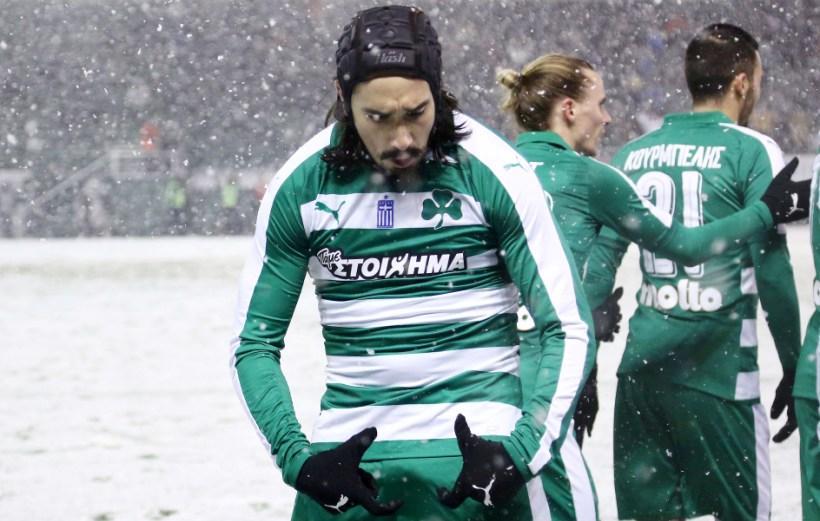 Με γκολ του Λέτο 1-0 την Κέρκυρα ο ΠΑΟ, στη χιονισμένη Λεωφόρο