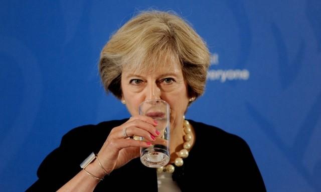 Brexit: Συνάντηση Μέι-Τουσκ στο Λονδίνο