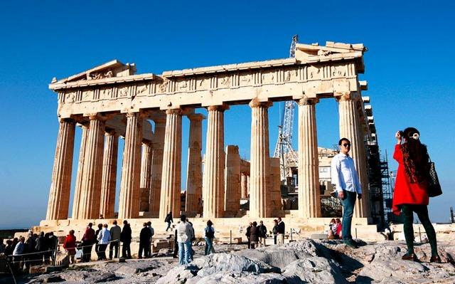 Ρεκόρ τουριστών στην Αθήνα το α΄ τρίμηνο