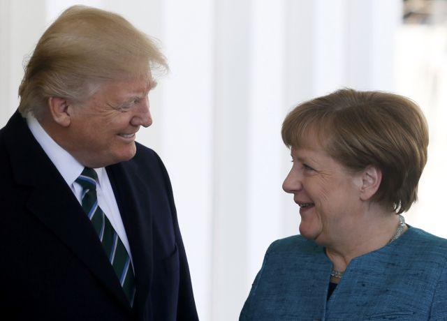 Στην ατζέντα της συνάντησης Τραμπ - Μέρκελ...και ο Nord Stream 2