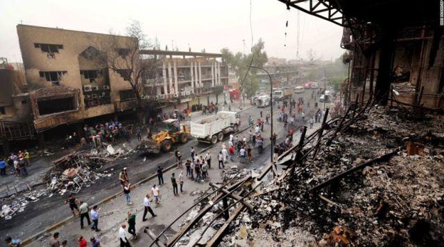 Λουτρό αίματος στη Βαγδάτη: Δεκάδες νεκροί από παγιδευμένο ΙΧ