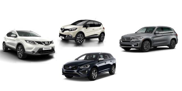 Προελαύνουν τα SUV στην Ευρώπη με 28% μερίδιο αγοράς