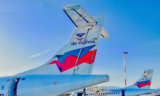 Δύο αποκλειστικά δρομολόγια προσφέρει η Sky Express