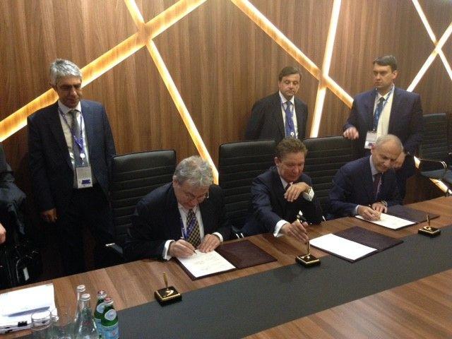 Συμφωνία Gazprom- ΔΕΠΑ- Edison για τον νότιο αγωγό αερίου