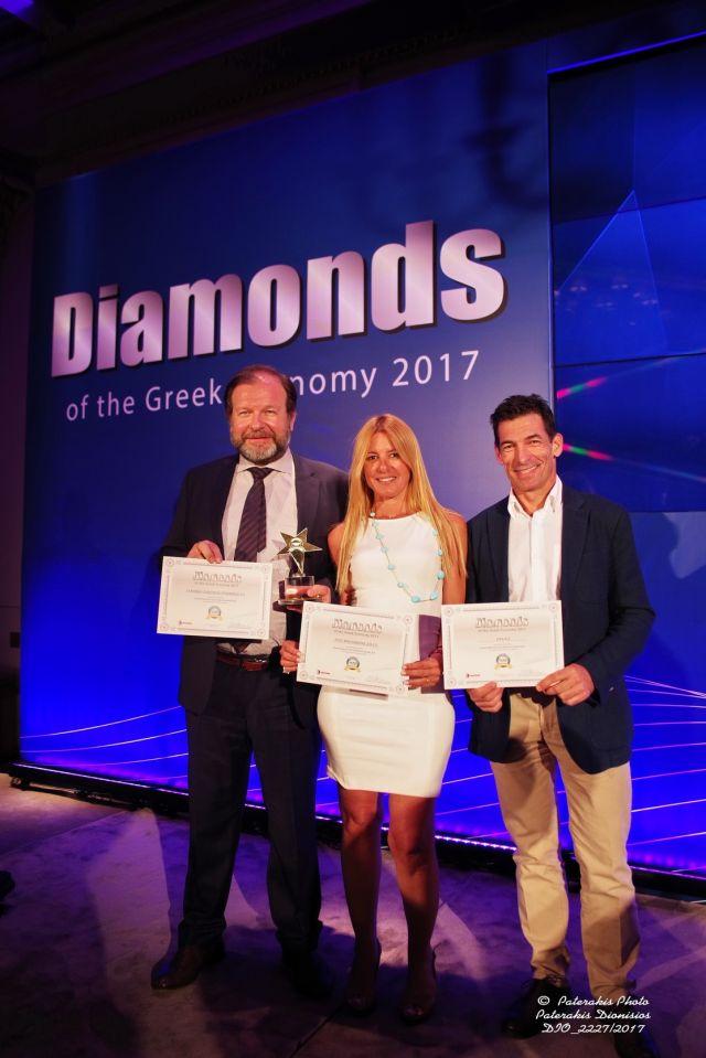 Επτά επιχειρήσεις ΕΛΛΑ-ΔΙΚΑ ΜΑΣ αναδεικνύονται «Διαμάντια» της Ελληνικής Οικονομίας
