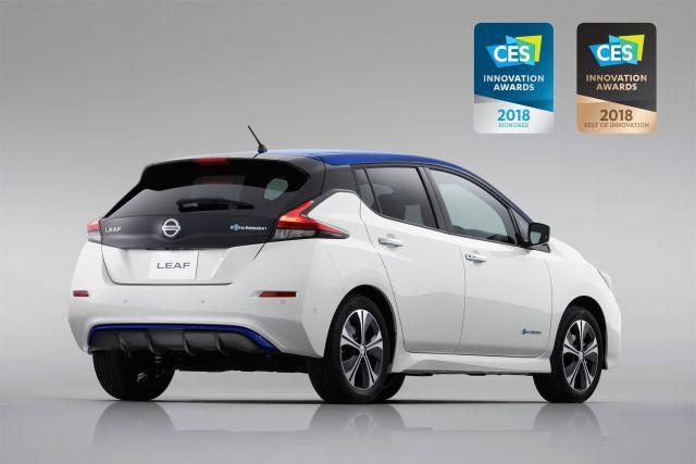 Το νέο Nissan LEAF κερδίζει το πρώτο του διεθνές βραβείο