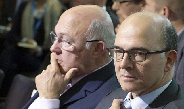Αισιόδοξοι Σαπέν - Μοσκοβισί για λύση στο ελληνικό ζήτημα