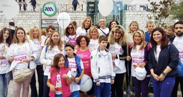 Ευρωπαϊκή Πίστη: Συμμετείχε στο Greece Race for the Cure