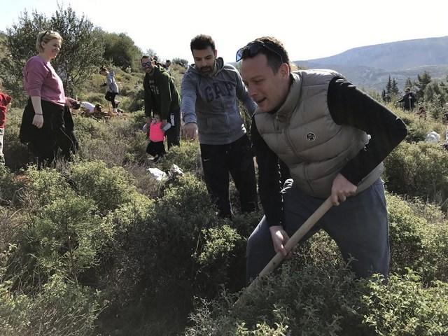 Αναδάσωση από τη Sanofi και τη LeasePlan Hellas