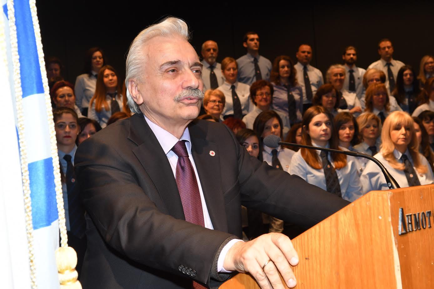 Απονομή πτυχίων σε εθελοντές έκανε ο Ε.Ε.Σ. Λάρισας