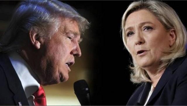«Διακριτική» στήριξη Τραμπ σε Λεπέν μετά την επίθεση στο Παρίσι
