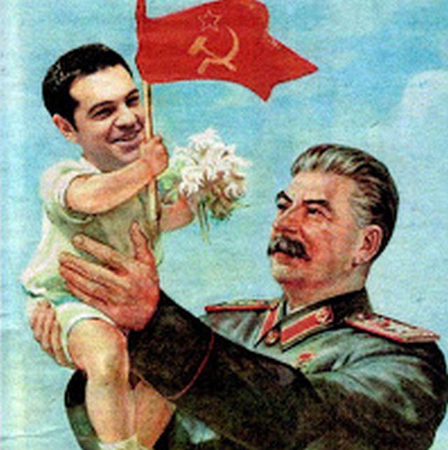 Ο Τσίπρας διαβάζει Στάλιν