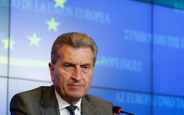 Έτινγκερ: Χρειάζεται ένα πολυετές δημοσιονομικό πλαίσιο στην ΕΕ