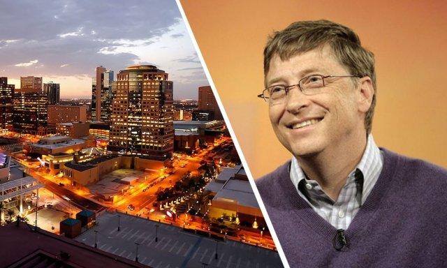 «Έξυπνη πόλη» δημιουργεί ο Μπιλ Γκέιτς