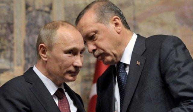 Επικοινωνία Πούτιν - Ερντογάν για το Χαλέπι