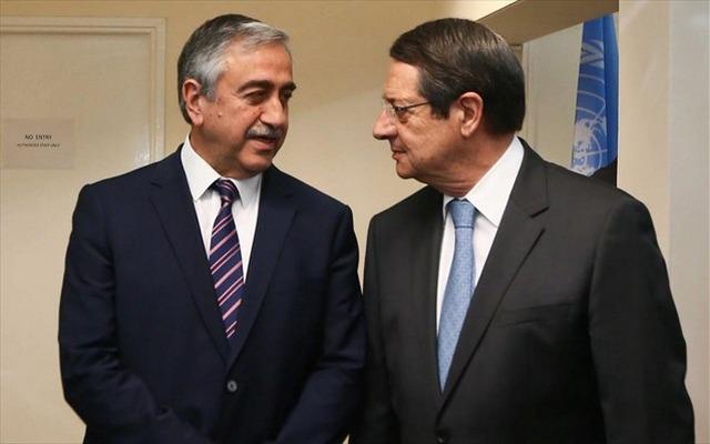 Κινητικότητα για Κυπριακό: Συνάντηση Αναστασιάδη - Ακιντζί τέλη Μαρτίου