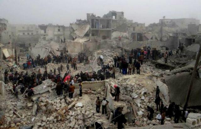 Περίπου 25.000 άνθρωποι έχουν απομακρυνθεί από το Χαλέπι