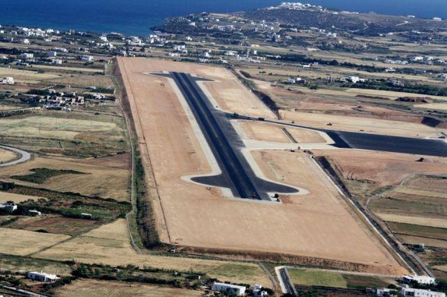 Εγκαίνια Νέου Αερολιμένα Πάρου από τον Αλέξη Τσίπρα