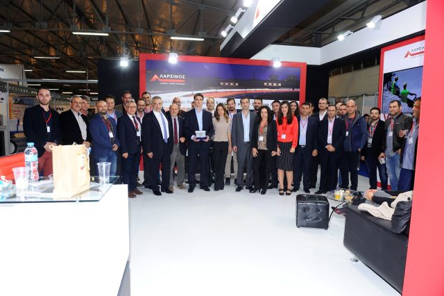 H Πελοπόννησος EXPO τίμησε τον Ιωάννη Λαρσινό