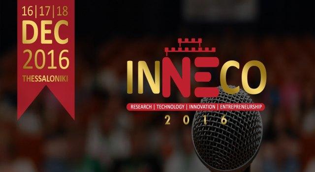 INNECO 2016: Αντίστροφη μέτρηση για το 1ο Διεθνές Συνέδριο Νεανικής Επιχειρηματικότητας στη Θεσσαλονίκη!