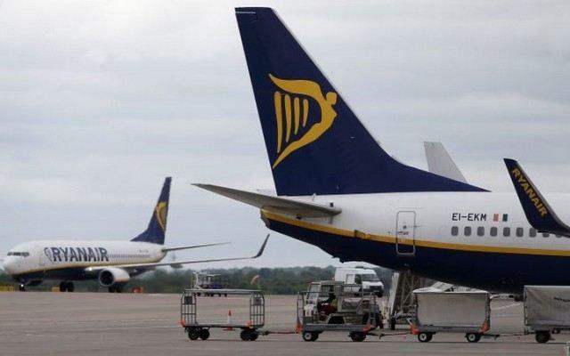 Το 87% των πτήσεων της Ryanair στην ώρα τους τον Ιούνιο