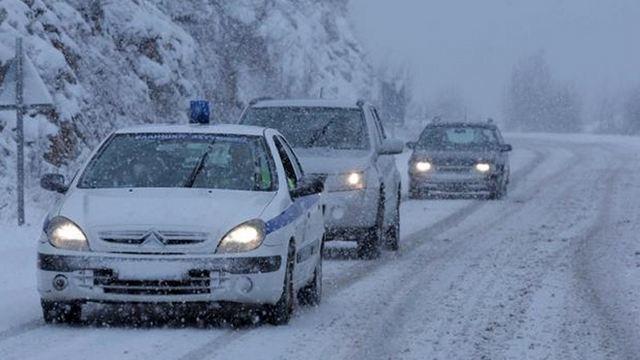 Με αλυσίδες η κυκλοφορία σε περιοχές της Κεντρικής και Δυτικής Μακεδονίας