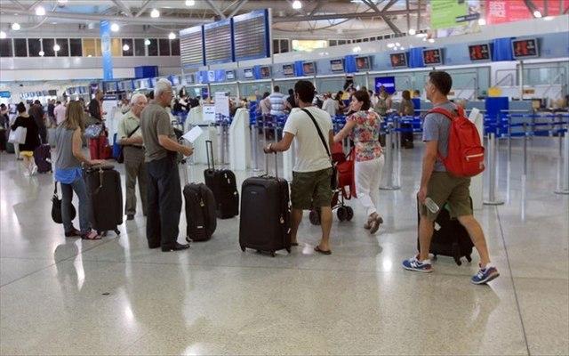 Πλεόνασμα στο ταξιδιωτικό ισοζύγιο 3.2 εκατ. ευρώ το 6μηνο του 2015