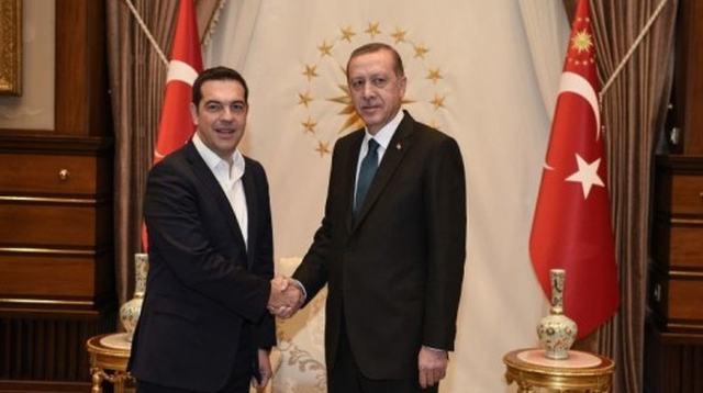 Τηλεφωνική επικοινωνία Τσίπρα - Ερντογάν για το Κυπριακό