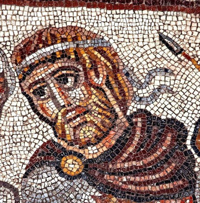 Ανακαλύφθηκε ψηφιδωτό του Μεγαλέξανδρου σε αρχαία συναγωγή