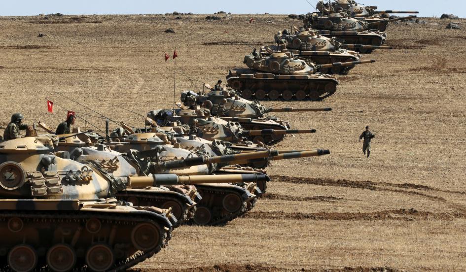 Η Τουρκία ετοιμάζει επέμβαση στη Συρία