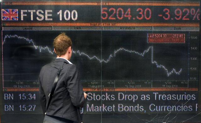 Πτωτικές τάσεις στις ευρωαγορές