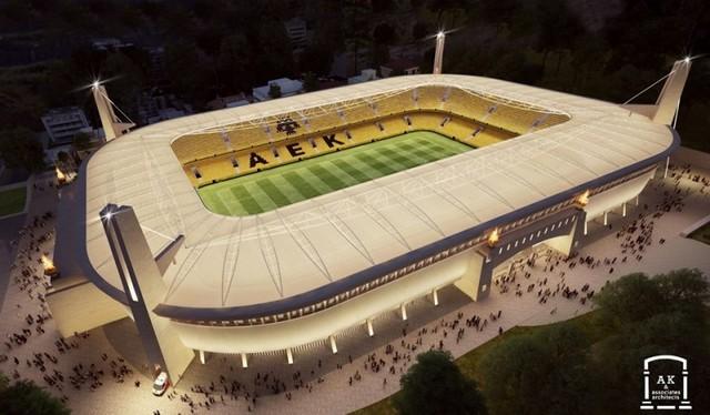 Βγήκε η οικοδομική άδεια για το νέο γήπεδο της ΑΕΚ!