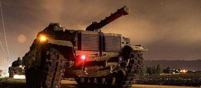 Εισβολή των τουρκικών δυνάμεων στην Αφρίν